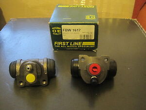 FIAT-PUNTO-94-99-BENDIX-REAR-BRAKE-WHEEL-CYLINDER-X-2