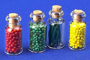 Dolls-House-12th-Scale-4-Filled-Sweet-Jars-NB479