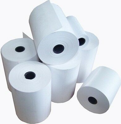 57 X 30 Thermal Rolls For Credit Card And Tills Machines Box Of 40