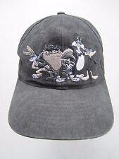 Vintage 1997 Looney Tunes Hip Hop Six Flags Snapback Cap Hat Taz Bugs Sylvester