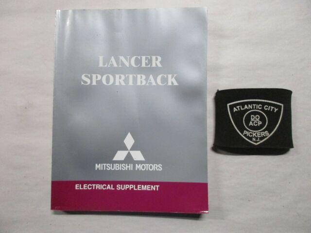 2004 Mitsubishi Lancer Sportback Electrical Wiring Diagram