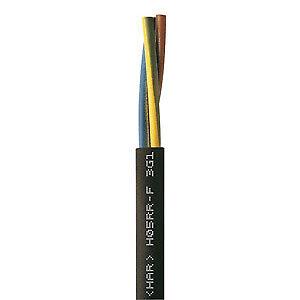 Gummischlauchleitung H05RR-F 4G0,75 schwarz 100m Ring