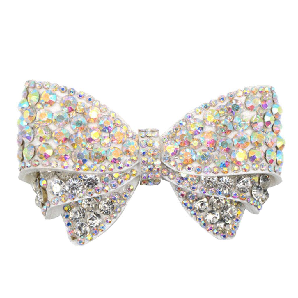 Detachable bowknot shoe clip Decorative crystal shoe hanger