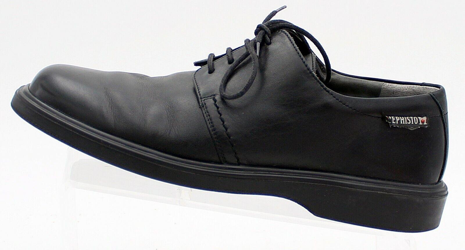 Mephisto Para hombre Oxford Básico Negro Jet-Air confort de cuero hombres 8.5 8 1 2