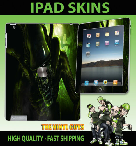 3g 4g Y Wifi pegatina de vinilo H R Giger Alien Accesorios Skin Apple Ipad 2 3