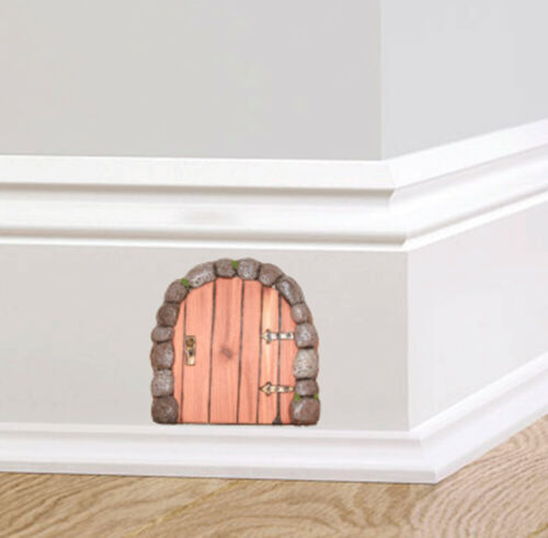 Full Colour Cute Mouse Hole Mouse Door Skirting Board Wall Sticker Decal Decorat
