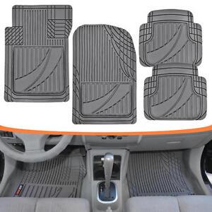 Motor Trend All Trim Heavy Duty Odorless Rubber Car Floor