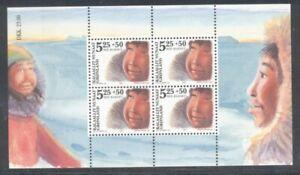 Greenland Sc B30a 2005 Save the Children Fund stamp sheet mint NH