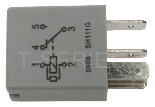 Fuel Pump Relay-Engine Control Module Wiring Relay Rear Standard RY612T