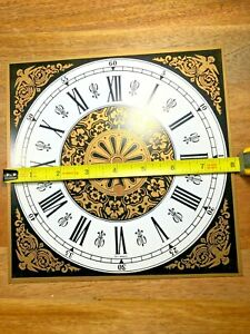 Old Clock Metal Dial Pan (Lot K775)
