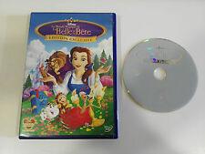 BELLE ET LA BETE DVD + EXTRAS EDITION EXCLUSIVE WALT DISNEY FRANCAIS ENGLISH