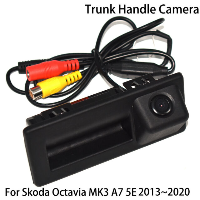 Best Wireless Backup Camera 2020.Car Rear View Trunk Handle Back Up Camera For Skoda Octavia Mk3 A7 5e 2013 2020