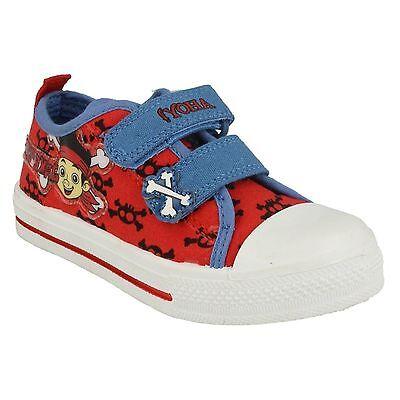 Clothing, Shoes & Accessories Purposeful Para Niños Disney Jake Tibias Cruzadas Azul Rojo Zapatos Lona Ocasionales Soft And Antislippery