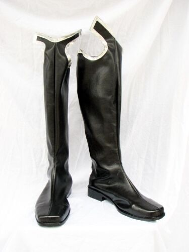Kingdom Hearts 2 Organization XIII Cosplay Costume Boots Boot Shoes Shoe
