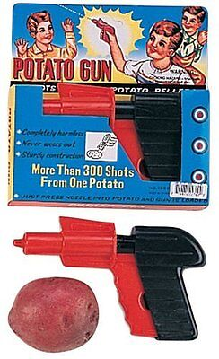 Potato Gun Spud Launcher Fun Toy Play Gift