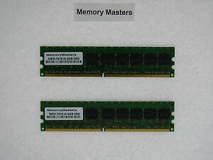 Inquiet Mem-7816-i4-2gb 2 Go (2 X 1 Go) Drachme Kit Mémoire Pour Cisco Mcs 7816-i4 Adopter Une Technologie De Pointe