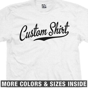 800273ed Custom Script & Tail T-Shirt - Baseball Softball Athletic Sports Old ...