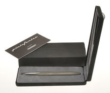 Parafernalia by Pininfarina special Titanium 1995 fountain pen new old stock