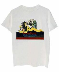 Hammer-Mens-T-Shirt-White-Size-Medium-M-Horror-Of-Dracula-Graphic-Tee-20-270