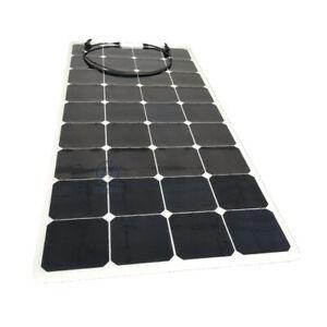 Panel Solar De 120 W, Semi flexible con panel solar células SunPower etilenotetrafluoretileno Cubierta