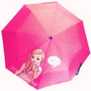 Topmodel-Regenschirm-5050-D-neon-pink-Punkte-Christy-Hey-Kinder-Schirm-Taschensc