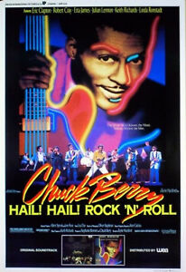 HAIL-HAIL-ROCK-N-ROLL-1987-Chuck-Berry-Keith-Richards-Eric-Clapton-BELGIAN