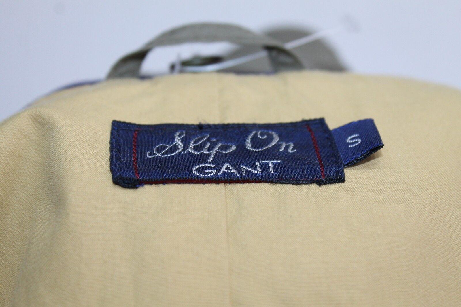 Uomo's GANT Classico Marrone Trench Giacca MAC con Cintura Taglia ORIGINALE S come M/L ORIGINALE Taglia 284db4