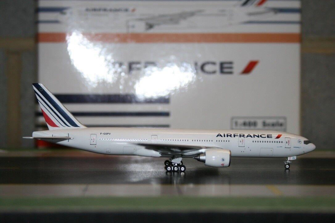 Phoenix 1 400 Air France Boeing 777-200 F-gspv (PH10570) Fundición Modelo de Avión