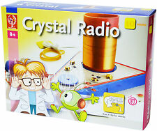 ELENCO EDU-3010 Elenco Build Your Own Working Crystal Radio Lab DIY Kit Ages 8+