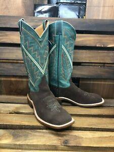 Bingham Chocolate Suede Western Boot   eBay