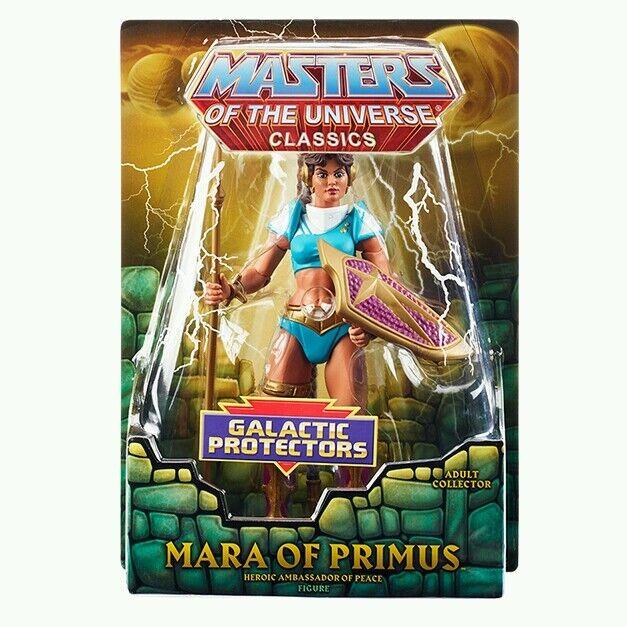 Masters de Univers Classique Mara de  Primus Figurine Héroïque Ambassador de Paix  choix à bas prix