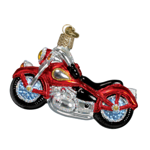 Old-World-Christmas-MOTORCYCLE-46008-N-Glass-Ornament-w-OWC-Box