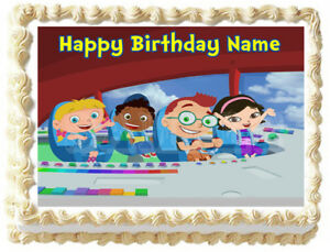 Magnificent Little Einsteins Party Edible Cake Topper Image Ebay Birthday Cards Printable Nowaargucafe Filternl