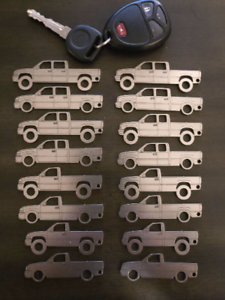 1999-2007 Chevy//GMC NBS Truck Keychains