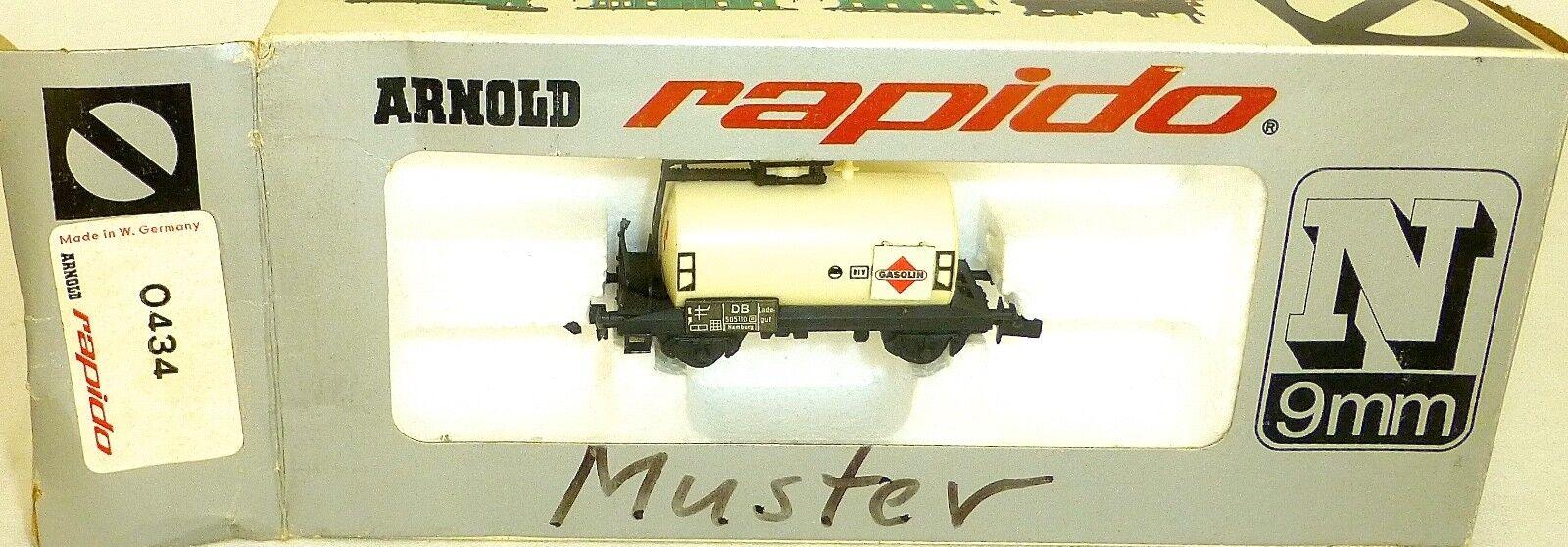 Gasolin Vagone Cisterna Db Arnold Rapido 0434 N 1 160 Conf. Orig. HU3 Å