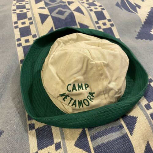Vintage 50's Champion Knitwear Camp Hat Cap Proces