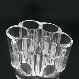 Clear-Acrylic-Makeup-Cosmetic-Organizer-Lipstick-Brush-Holder-Storage-Case