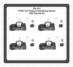 SET-4-Kits-TPMS-Tire-Pressure-Sensor-w-Service-Kits-Fits-Chrysler-Dodge-Jeep