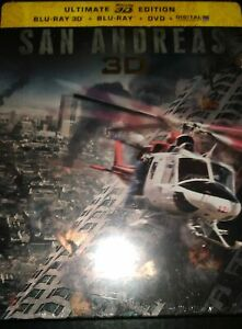 Blu-ray-San-Andreas-Steelbook-NEUF-SOUS-BLISTER