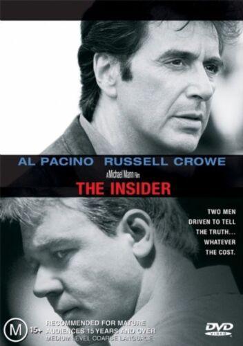 1 of 1 - The Insider (DVD, 2002)
