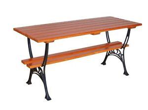 Gartenmöbel Tisch Sitzgarnitur Holz Gartentisch Garten Massivholz Ebay