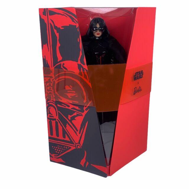 NIB Star Wars Darth Vader X Barbie Doll Gold Label Mattel