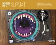 "Monster Mouth Turntable Slipmat - 12"" LP Record Player DJ Pad"