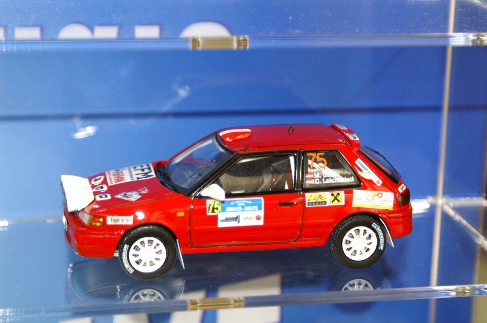 1 43 Mazda 323 BG 4WD  Jänner-Rallye  2015 , Bachl Leichtfried  offres de vente