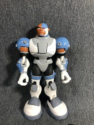 "Action Figure DC Comics Teen Titans 3.5/"" Cyborg Bandai 2003"