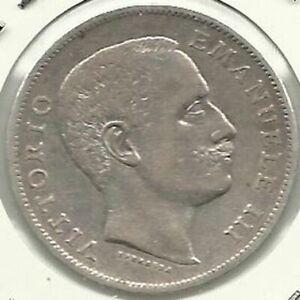 ITALY-1-LIRA-1902-PICK-KM-32-XF-SILVER