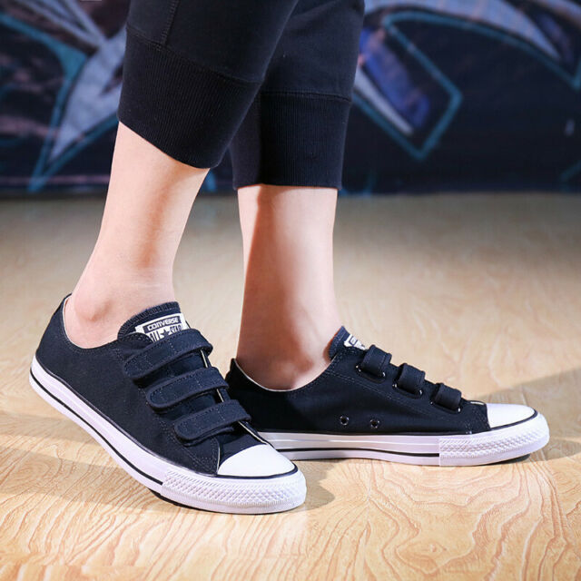 dadb70c3c5e7e4 Converse Ladies UNISEX Chuck Taylor All Star OX Trainers Shoes Black White  3 4