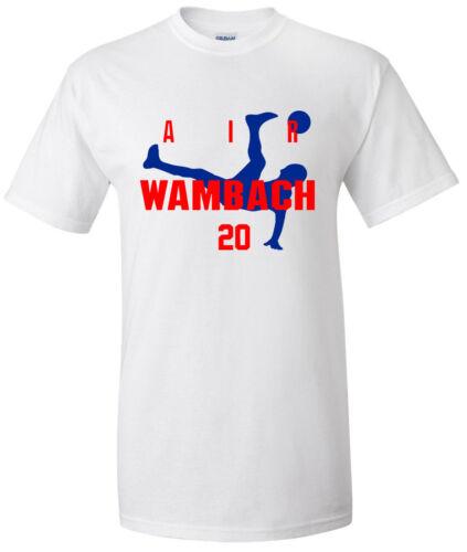 "Abby Wambach USA Soccer World Cup /""Air Wambach/""  jersey T-shirt  S-5XL"