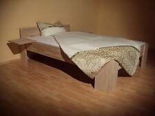 27mm Massivholz Bett Echtholz Kernbuche 140x200 Fuß I Doppelbett Gäste Senioren