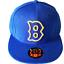 Boston-Bees-Fitted-Hat-Baseball-Cap-Braves thumbnail 1